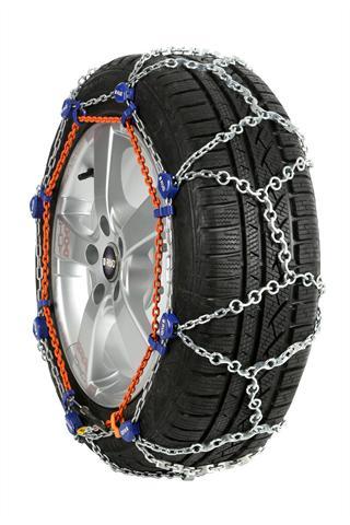 Die neue Schneekette setzt auf eine sogenannte Steg-Ring-Laufnetz-Konfiguration, die man sonst nur von schweren Räumfahrzeugen kennt.