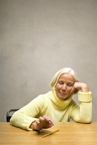 Patienten mit Rheuma fühlen sich oft isoliert.